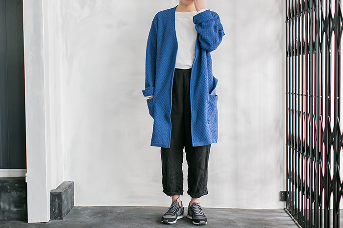 semoh ローブ BLUE